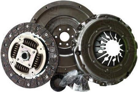 Zestaw sztywne koło zamachowe + sprzęgło Audi A6