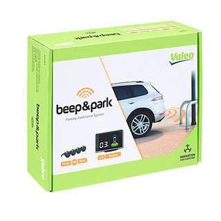 Czujniki parkowania Valeo + wyświetlacz