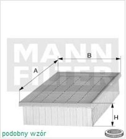 Filtr powietrza MANN BMW 7 E38