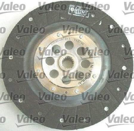 Zestaw sprzęgła Valeo Peugeot 207 1.6 HDi